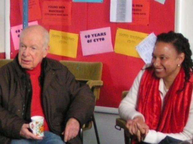 Peter Brook & Maria Resistance rehearsals